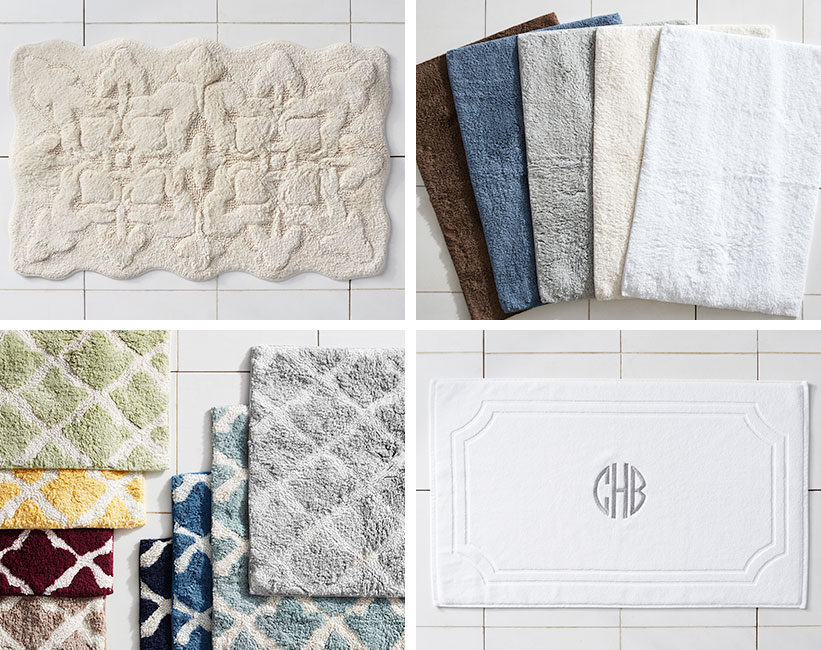 How To Choose The Perfect Bath Rug Pottery Barn