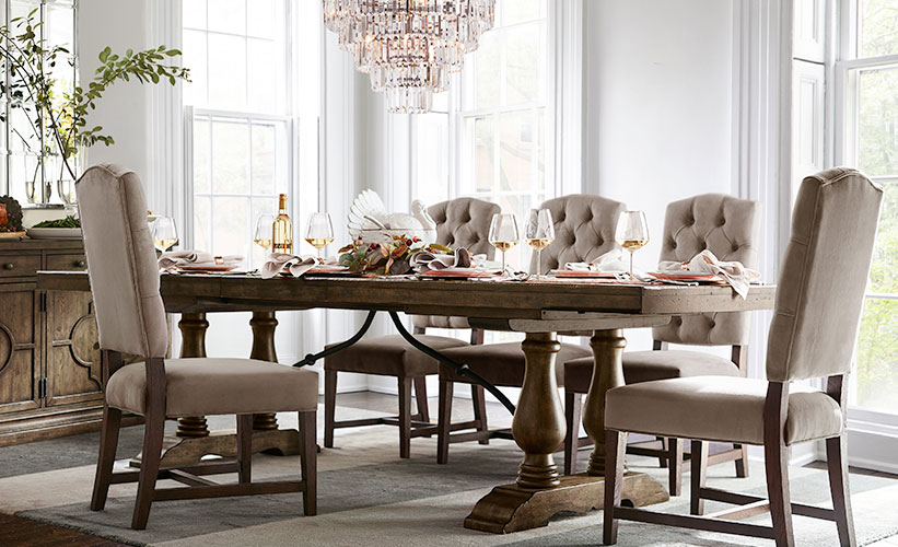 10 Tips to Decorate a Dining Room  Pottery Barn