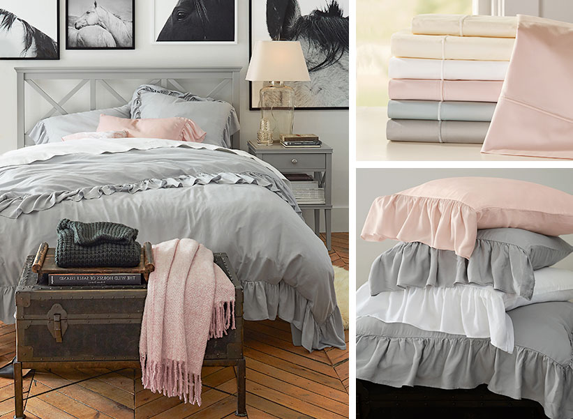 Eco Bedding Guide Pottery Barn