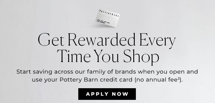 Pottery Barn Credit Card Pottery Barn