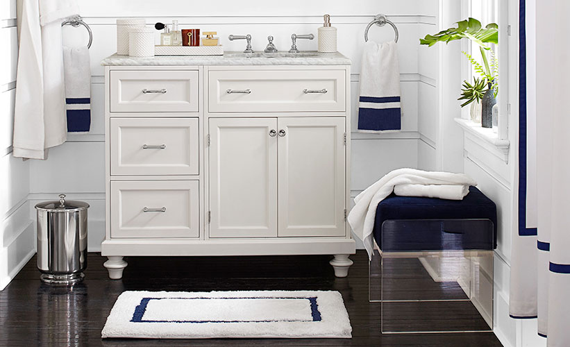 How to Choose the Perfect Bath Rug | Pottery Barn