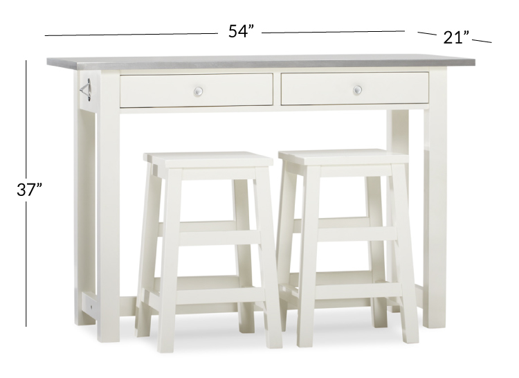 Balboa Counter Height Table Stool 3, Bar Height Table With Storage