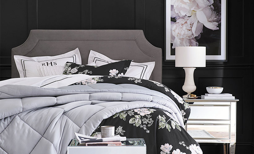 Look Sharp With These Black And White Bedroom Ideas Pottery Barn