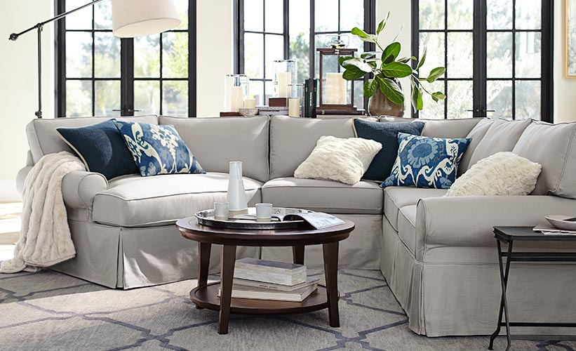 5 Ways To Decorate A Gray Living Room | Pottery Barn