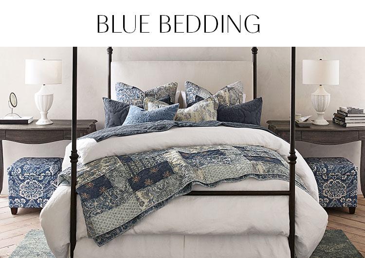 Blue Bedding | Pottery Barn