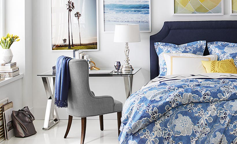 How To Decorate A Narrow Bedroom Pottery Barn