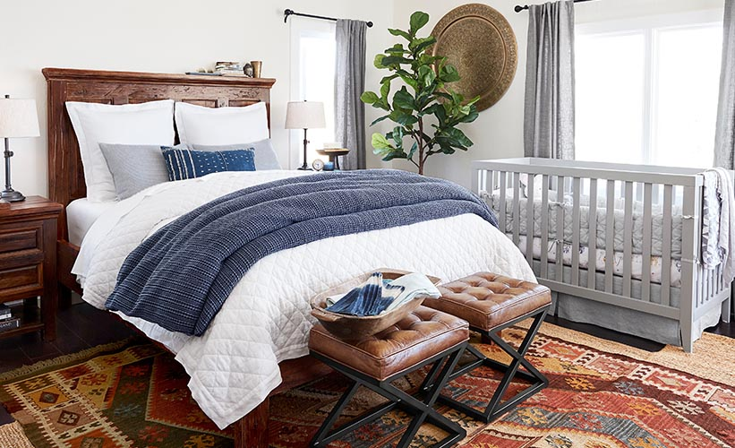 5 Decorating Ideas For Sharing A Room With Baby | Pottery Barn