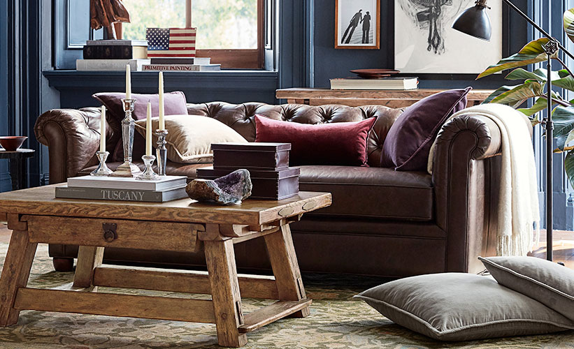 How To Decorate A Leather Couch, Living Room Decor Ideas With Brown Leather Couches