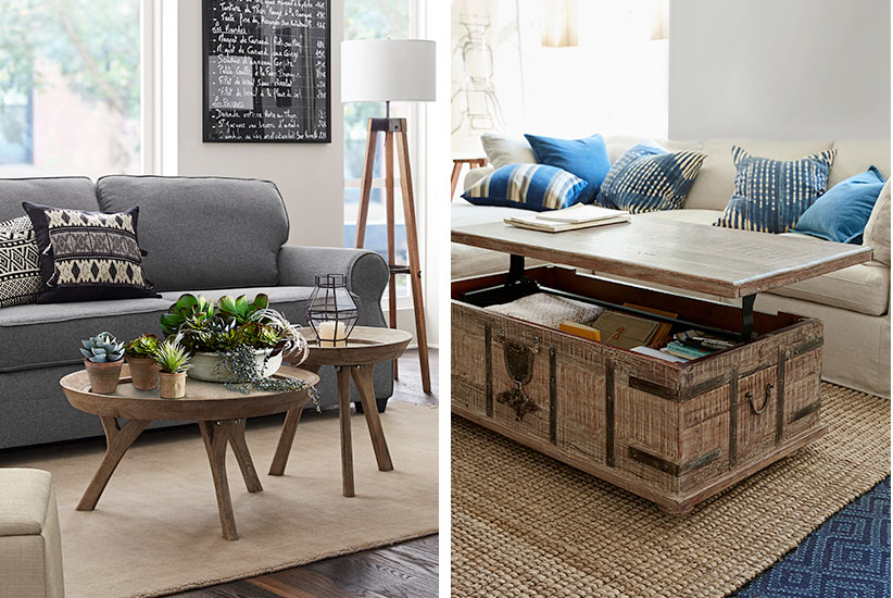 4 Unconventional Coffee Table Ideas Pottery Barn