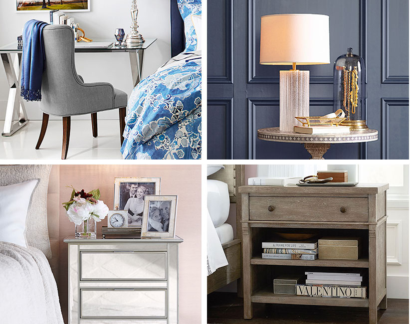 7 Stylish Bedside Table Decor Ideas Pottery Barn