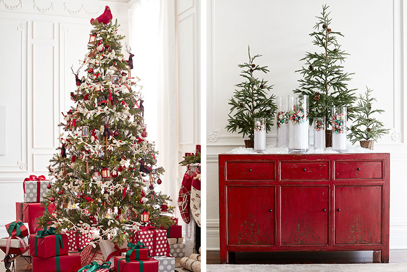 Why A Tree The History Behind Christmas Trees Pottery Barn