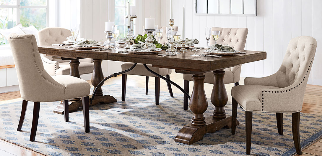 Dining Collection Page Pottery Barn, Nice Dining Room Sets With Bench
