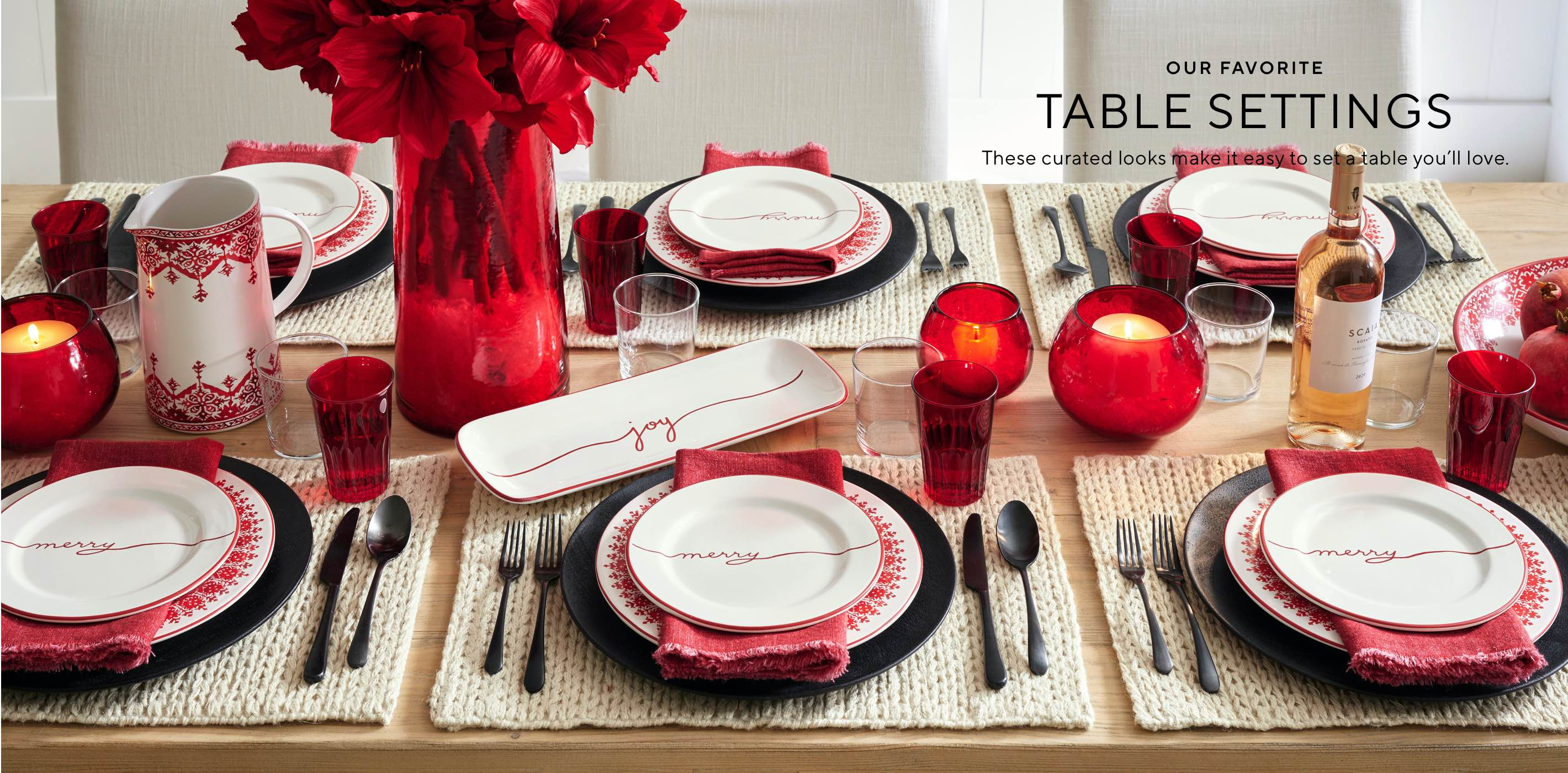 Our Favorite Table Settings