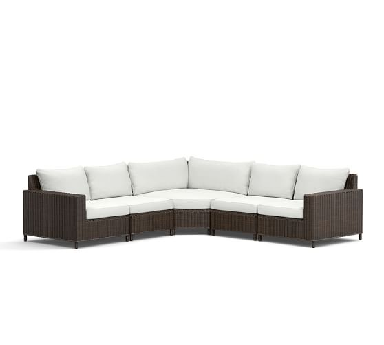 Sectional All Outdoor Lounge Seating Pottery Barn