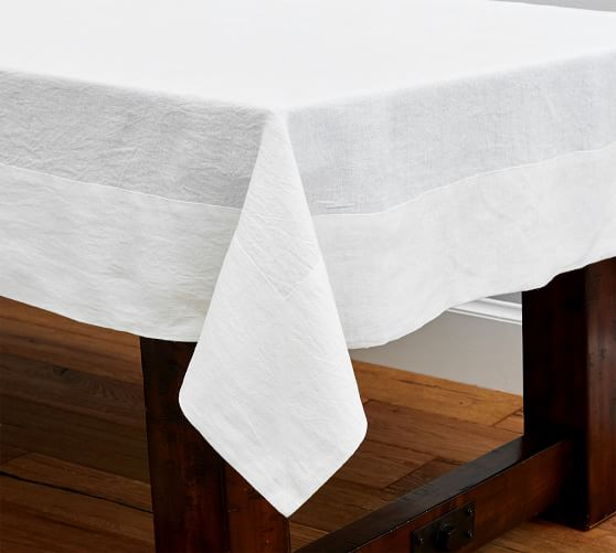 Tablecloths Table Runners Amp Table Linens Pottery Barn