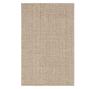 Chunky Wool/Jute Rug - Natural