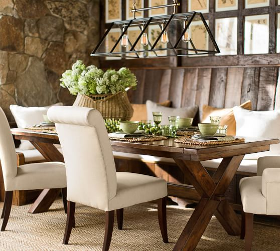 Pb Comfort Roll Upholstered Dining