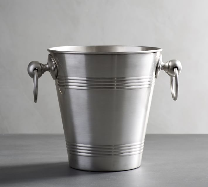 Antique Silver Ice Bucket Pottery Barn