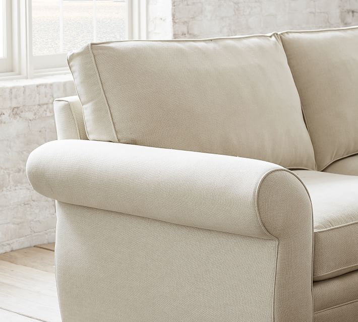 Pearce Upholstered 3-Piece L-Sectional With Wedge