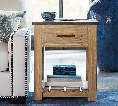 Parker 63 Quot Reclaimed Wood Console Table Pottery Barn