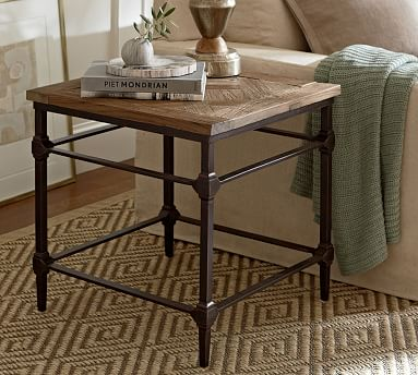 Parquet Buffet Table Pottery Barn