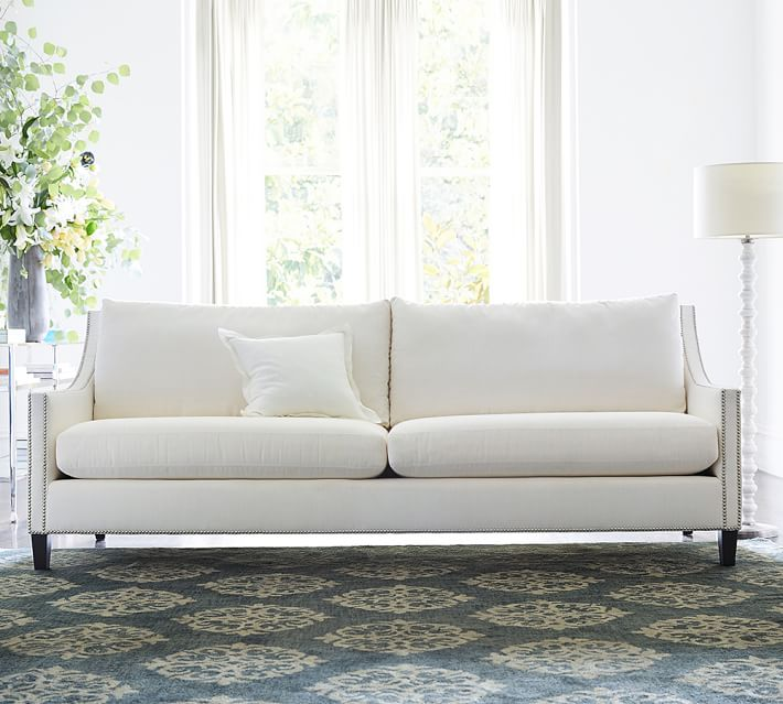 Pasadena Fabric Sofa Pottery Barn