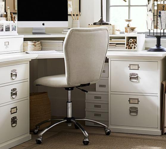 Bedford Corner Desk With Drawers