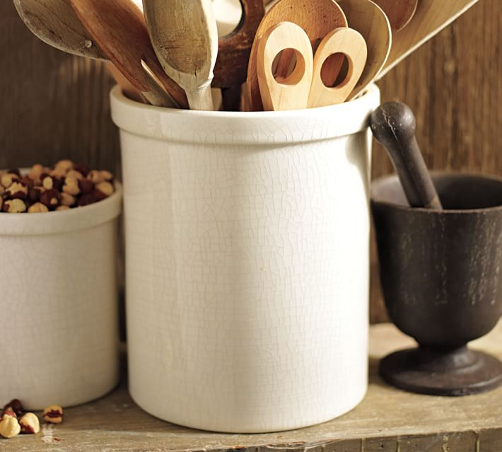 Shop Rhodes Ceramic Crock, Large from Pottery Barn on Openhaus