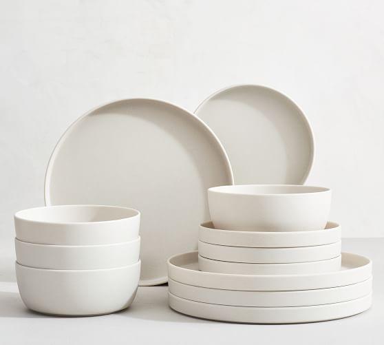 Mason Modern Melamine 12-Piece Dinnerware Set