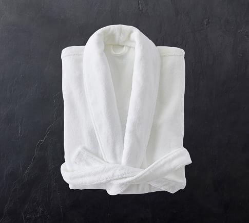 Organic Cotton Tencel Bath Robe Pottery Barn