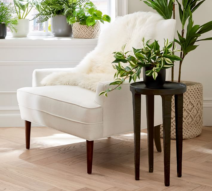 Shop Reyes Upholstered Armchair from Pottery Barn on Openhaus