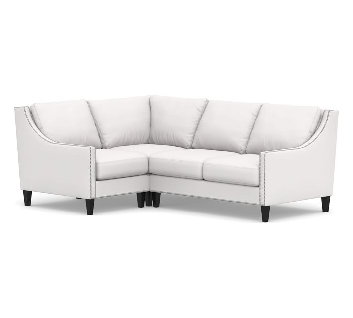 Pasadena Upholstered Right Arm 3 Piece Corner Sectional