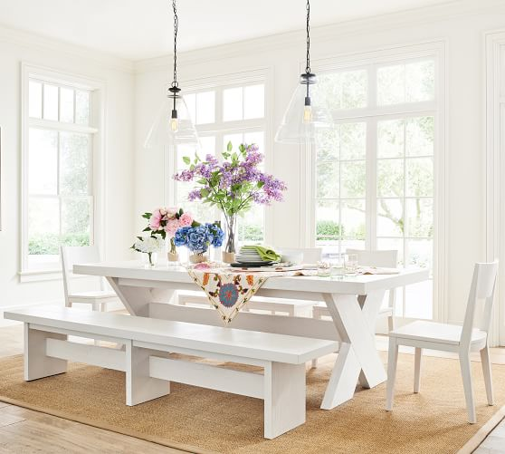 Modern Farmhouse Extending Dining Table