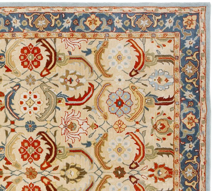 Eva Persian Style Hand Tufted Rug Swatch Pottery Barn