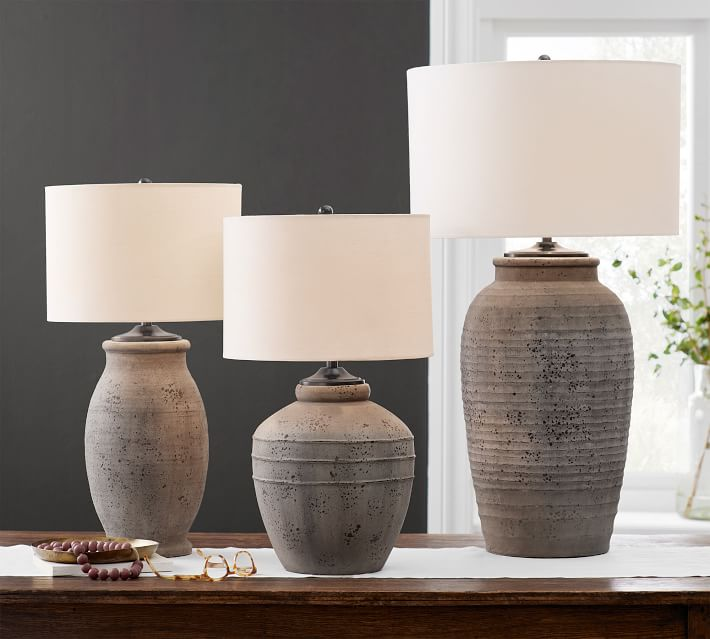 Shop Maddox Terra Cotta Table Lamp from Pottery Barn on Openhaus