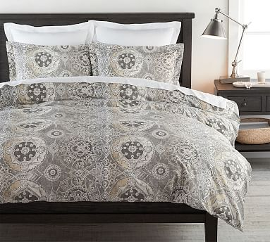 Jacquelyn Medallion Cotton Patterned Duvet Cover Amp Sham