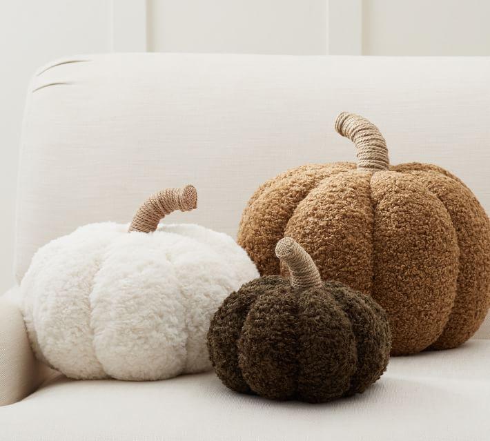 Cozy Pumpkin Pillows