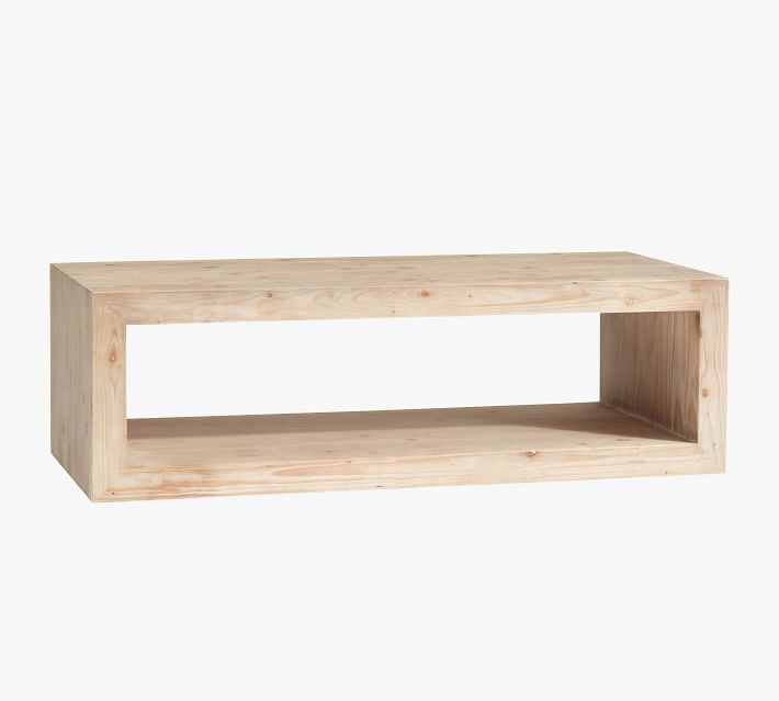 """Shop Folsom 58"""" Coffee Table from Pottery Barn on Openhaus"""