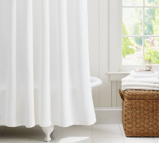 Shower Curtains Amp Shower Accessories Pottery Barn