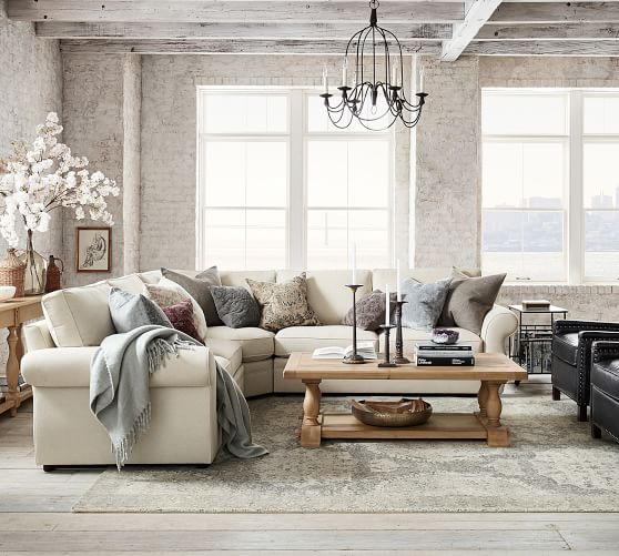 Pearce Upholstered 3 Piece L Sectional With Wedge Pottery Barn,Diy Chromebook Charging Station For Classroom