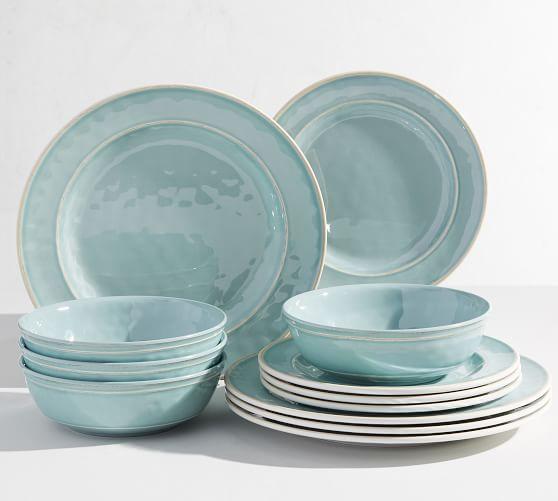 Cabana Melamine 12-Piece Dinnerware Set