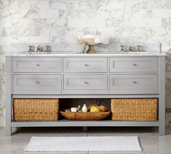Classic 72 Double Sink Vanity Pottery Barn