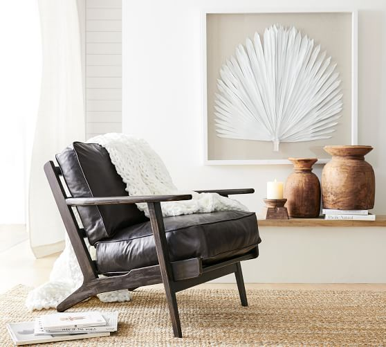 Raylan Leather Armchair Pottery Barn,Diy Chromebook Charging Station For Classroom