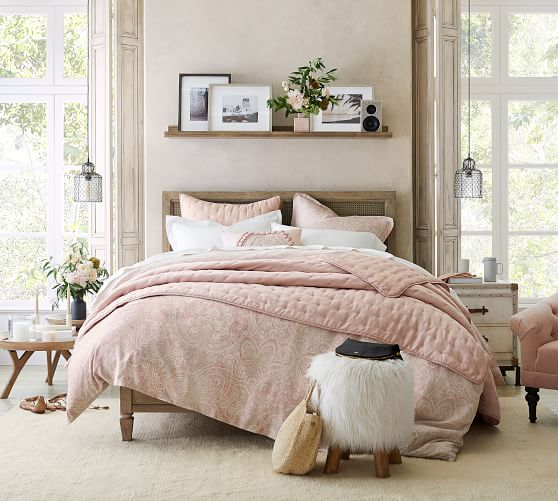 Sausalito Bed Wooden Beds Pottery Barn,Living Room Arts And Crafts Interiors