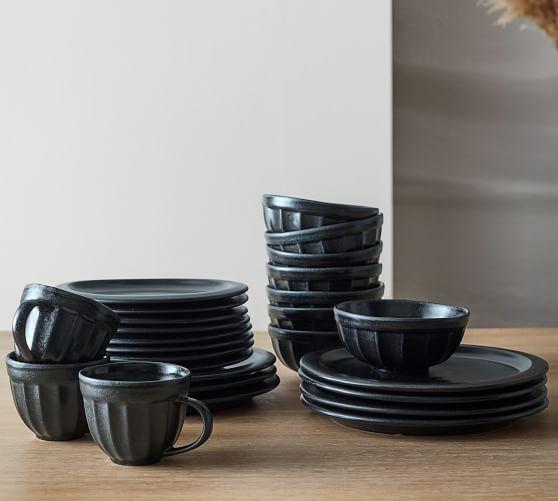 Mendocino Stoneware 16-Piece Dinnerware Set
