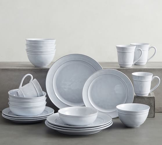 Cambria Recycled Stoneware 20-Piece Dinnerware Set