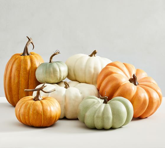 Shop Faux Pumpkins from Pottery Barn on Openhaus