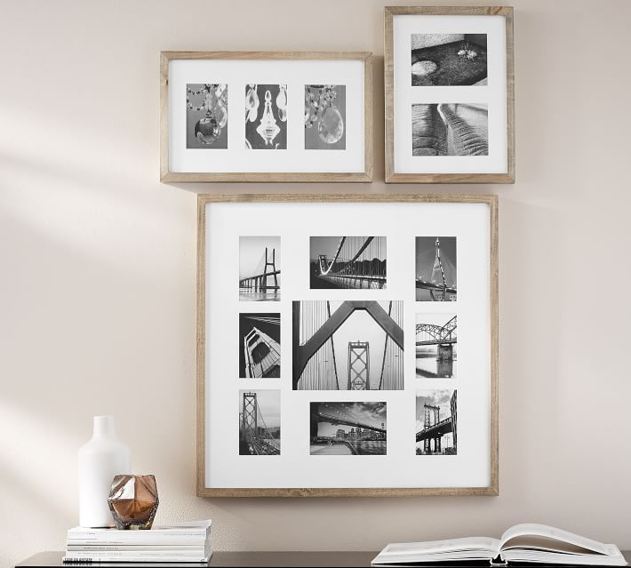 Wood Gallery Multi Opening Frames Pottery Barn