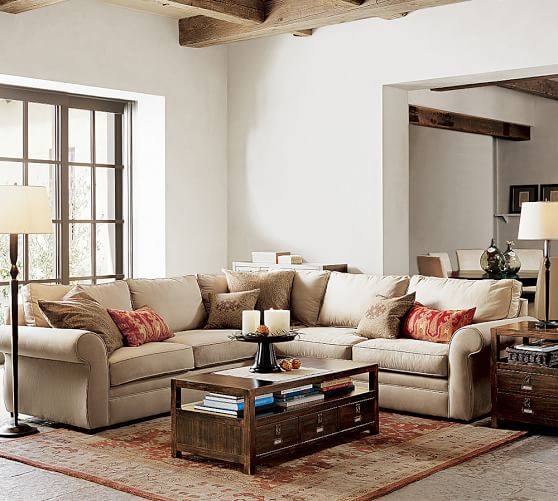 pearce roll arm upholstered 2 piece l sectional