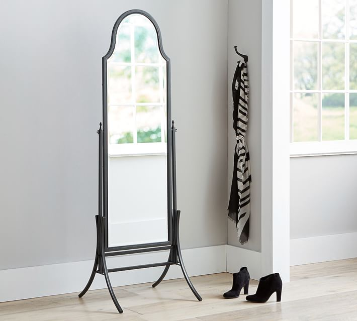 Pivoting Floor Mirror Standing Mirror Pottery Barn